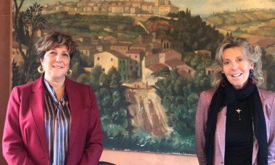 aidda-toscana-a-sinistra-la-presidente-Paola-Butali-a-destra-la-presidente-nazionale-Antonella-Giachetti
