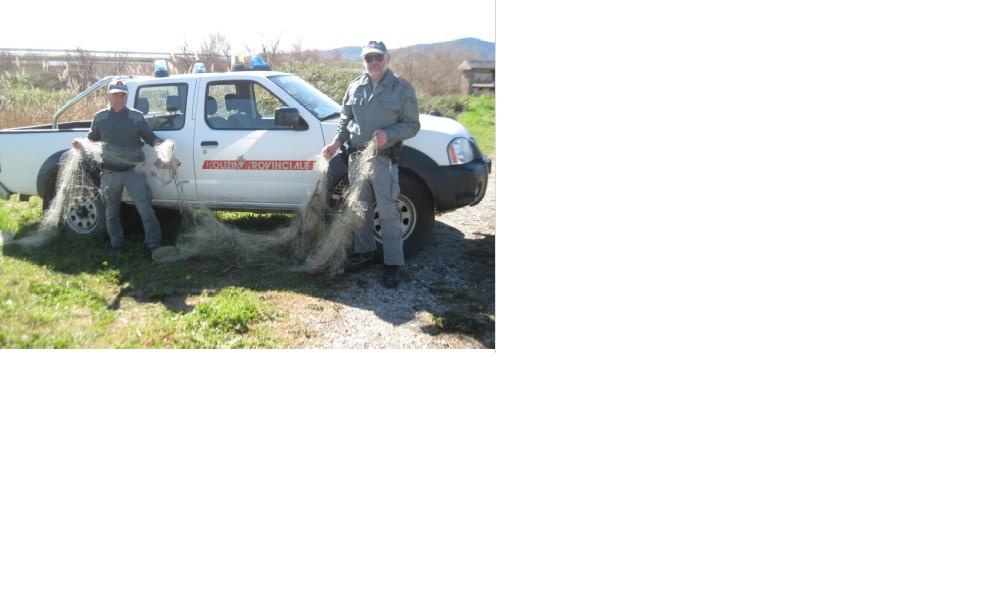 Polizia-provinciale-e-bracconaggio-ittico-tramaglio