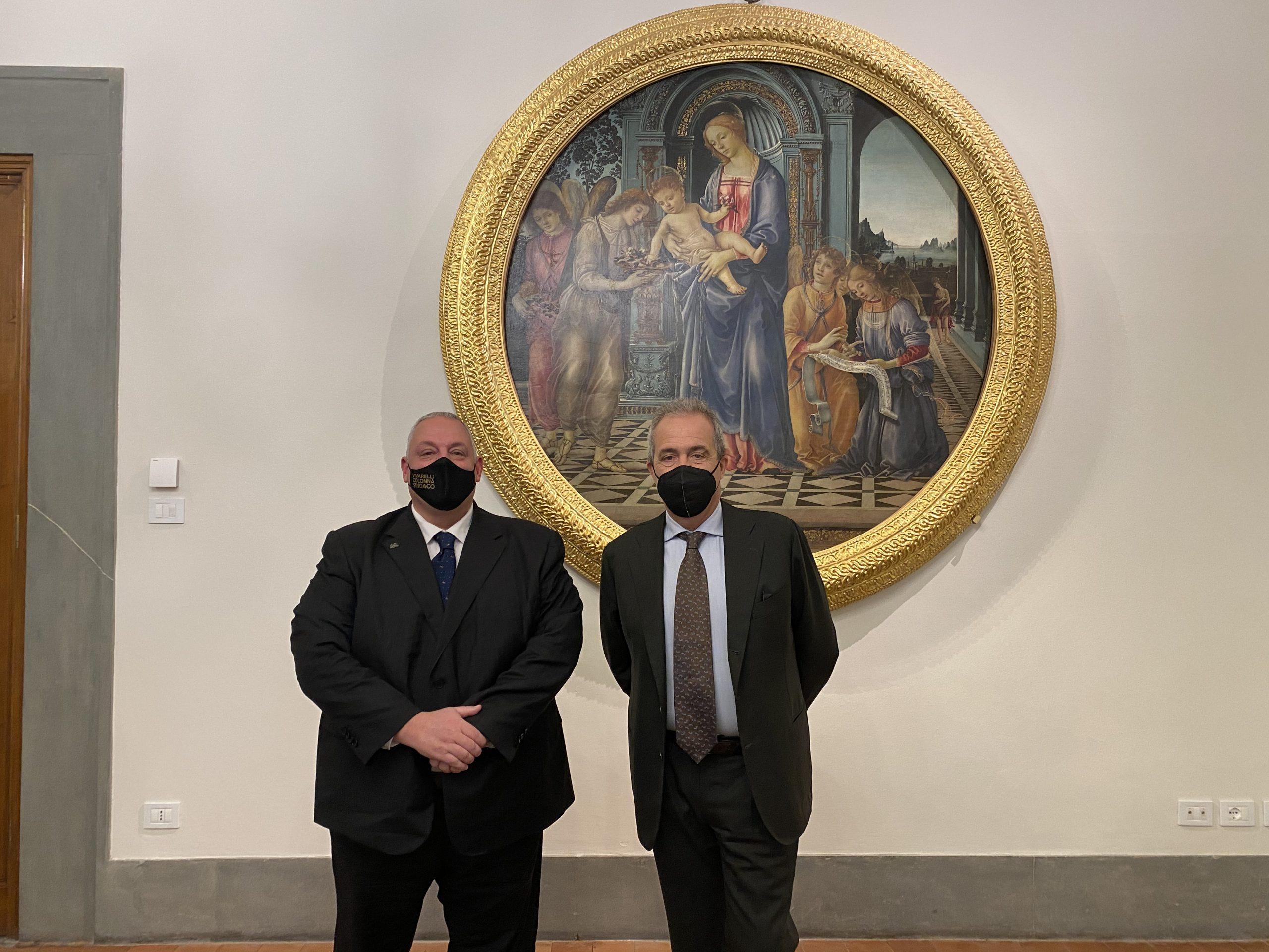 sindaco-vivarelli-colonna-Fondazione-CR-Firenze-e-in-particolare-il-presidente-Luigi-Salvadori