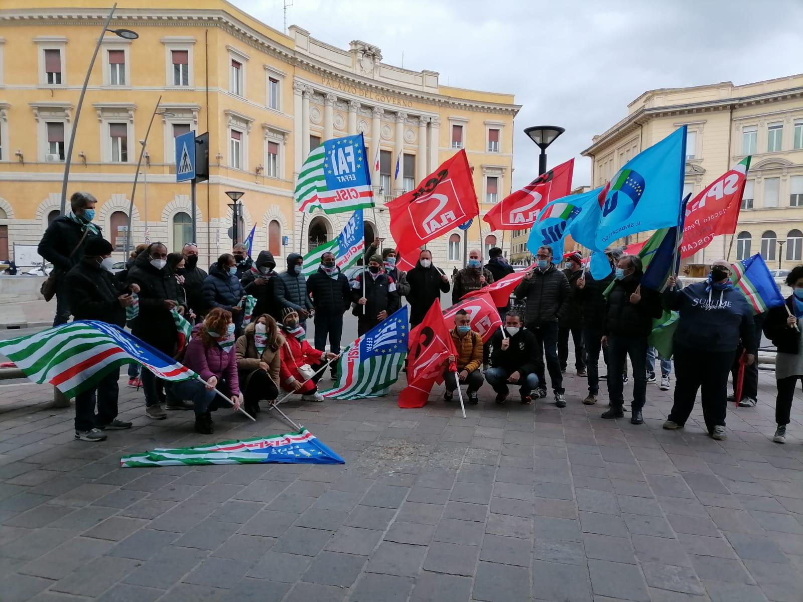 Rappresentanti sindacali agricoltori