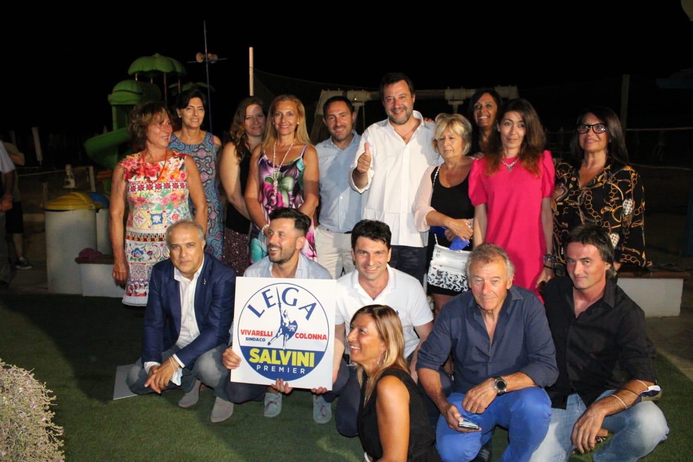 lega-matteo-Salvini-e-i-candidati-elezioni-di-grosseto