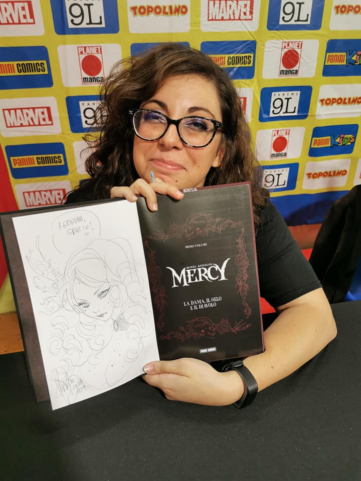 mirka-andolfo-fumettista