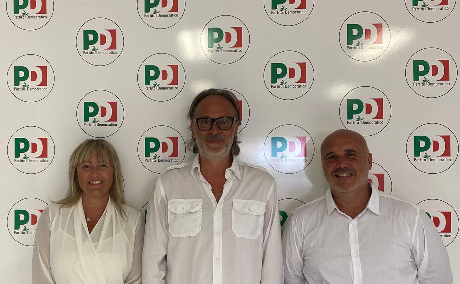 pd-segretario-comunale-Simone-Baricci-candidati-Bartolini-Davide-segretario-circolo-PD-Marina-di-Grossto-e-Bernardini-Rita